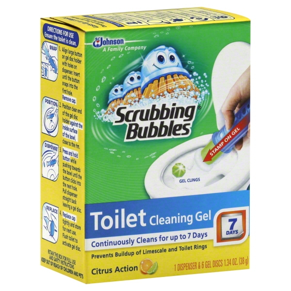 Scrubbing Bubbles Toilet Cleaning Gel (Pack of 2)