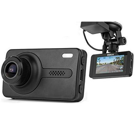 Black Box X1s Gps Dash Camera   Full Hd 1080P H 264 2 7  Lcd   170  Wide Angle 6G Glass Lens 1 7 Aperture  Wdr Night Vision  Sos  G Sensor  Motion Detection Car Dvr Video Recorder   16Gb Sd Card