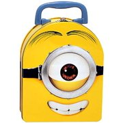 Despicable Me Minions Movie Stewart Dome Tin Lunch Box