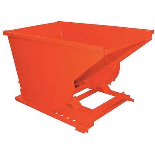 Self Dumping Hopper,Medium Duty,Orange G0688941