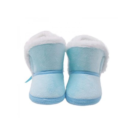 Babula Baby Boy Girl Soft Sole Crib Boots Warm Shoes (Baby Shoes Boots)