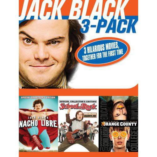 The Jack Black 3-Pack: Nacho Libre / School Of Rock / Orange County (Widescreen)
