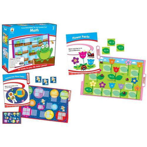 Math File Folder Game, Grade 2: File Folder Games