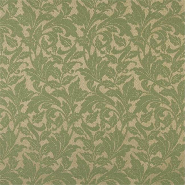 Designer Fabrics F602 54 in. Wide Dark Green, Floral Leaf Outdoor, Indoor, Marine Scotchgarded Fabric