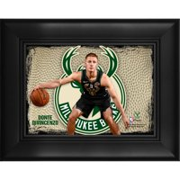 """Donte DiVincenzo Milwaukee Bucks Framed 5"""" x 7"""" Player Collage"""