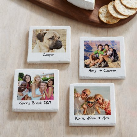 (Personalized Memories Shared Photo Coasters, Single Photo)