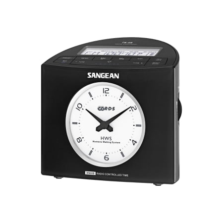 AM/FM-RDS ANALOG DIGITAL TUNING ATOMIC CLOCK RADIO