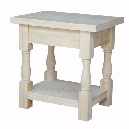 International Concepts Tuscan End Table