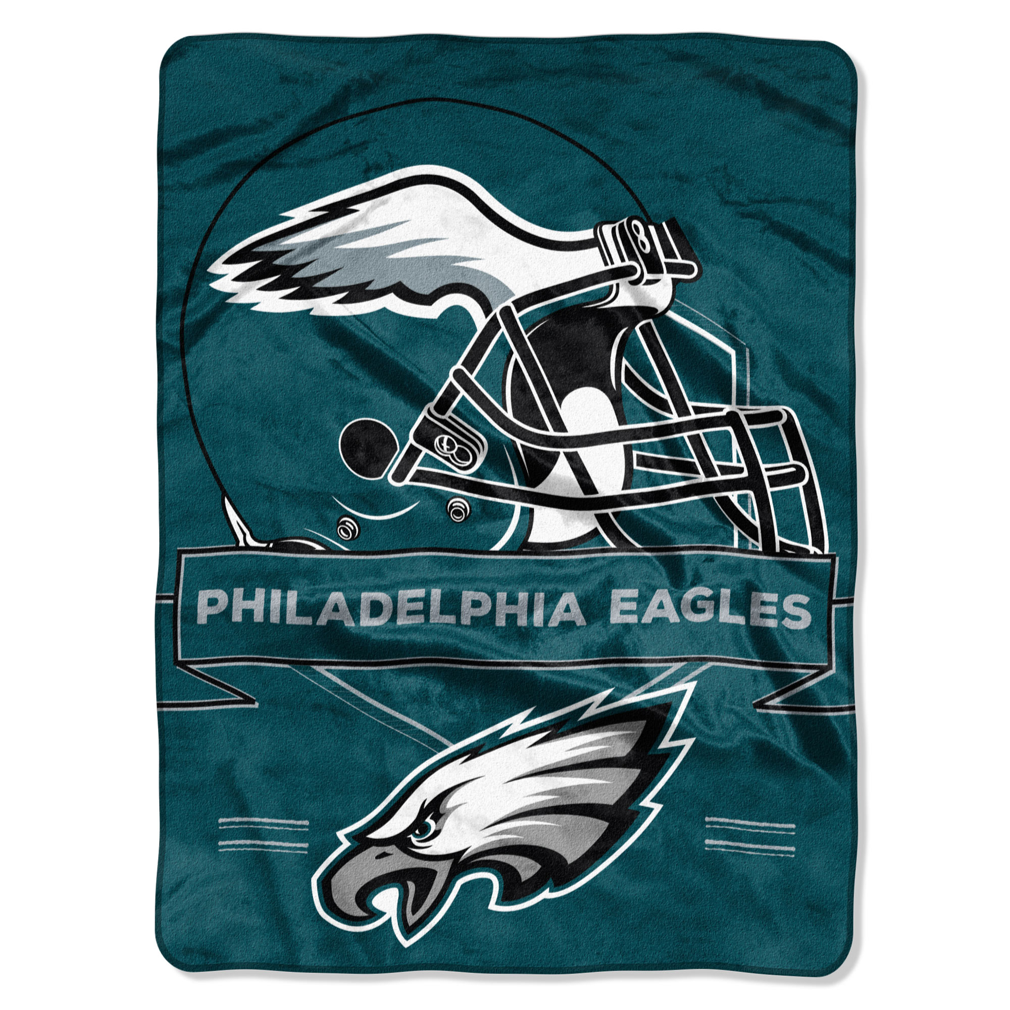 "Philadelphia Eagles The Northwest Company 60"" x 80"" Prestige Raschel Blanket - No Size"