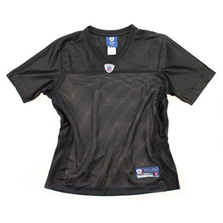 Medium Nfl Football Jersey (Reebok NFL Football Women's Blank Replica Jersey - Black)
