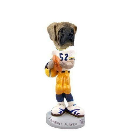 - Mastiff Football Player Doogie Collectable Figurine