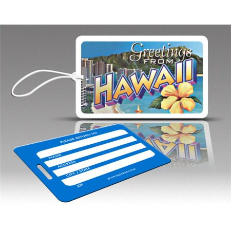 Insight Design 770699 TagCrazy Luggage Tags- Hawaii- Set of Three ()