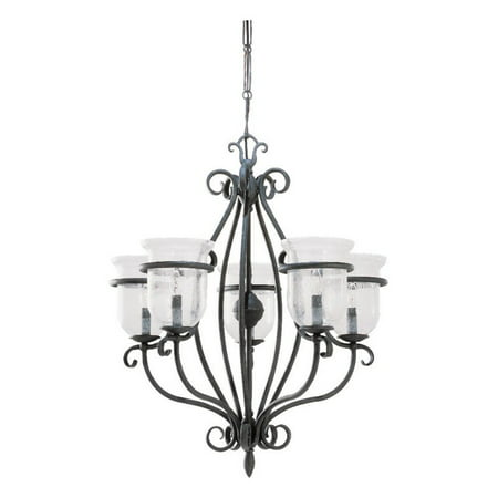 Sea Gull Lighting Manor House 3401 07 5 Light Chandelier 26 Diam