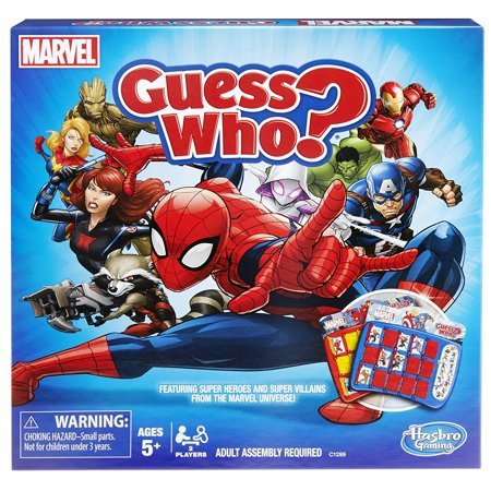 Guess Who? Game: Marvel - Guess The Ghost Halloween Game