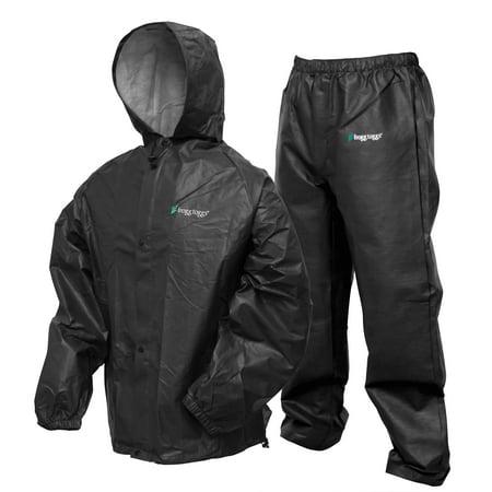 Pro Lite Rain Suit   Carbon Blk Size Sm/Md