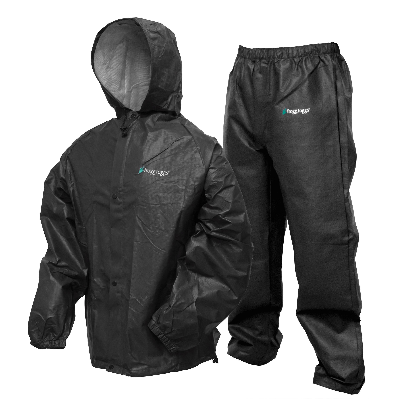 Pro Lite Rain Suit | Carbon Blk|Size Sm/Md