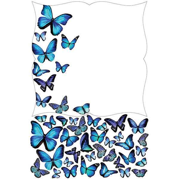 WallPops Papillion Giant Dry Erase Decal