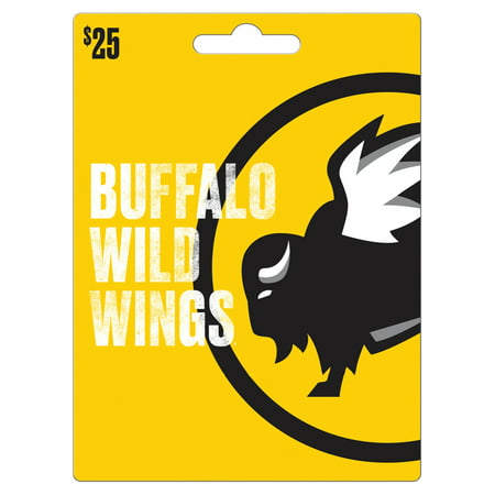 Buffalo Wild Wings 25 Gift Card Walmart