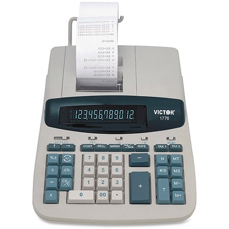 Victor 1776 Taa Compliant Ribbon Print Calculator