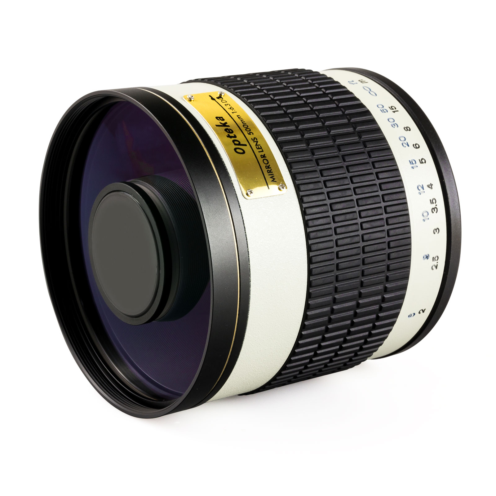 Opteka 500mm f/6.3 HD Telephoto Mirror Lens for Canon EOS-M / EOS-M3 Compact Digital Mirrorless Cameras