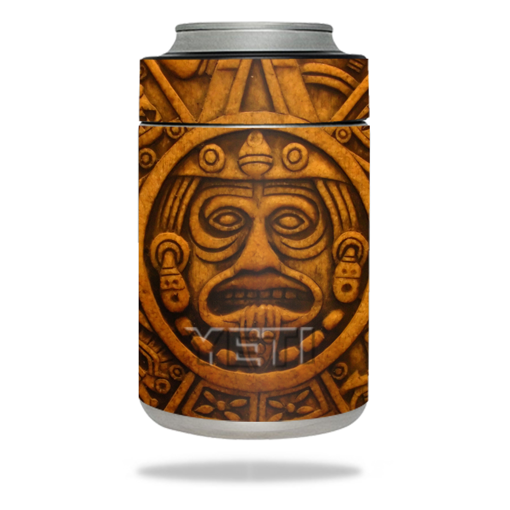 MightySkins Protective Vinyl Skin Decal for YETI Rambler Colster wrap cover sticker skins Carved Aztec