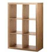 Better Homes & Gardens 6-Cube Storage Organizer, Multiple Finishes