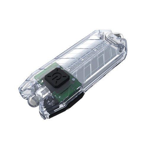 Tube 45 Lumens Flashlight Transparent