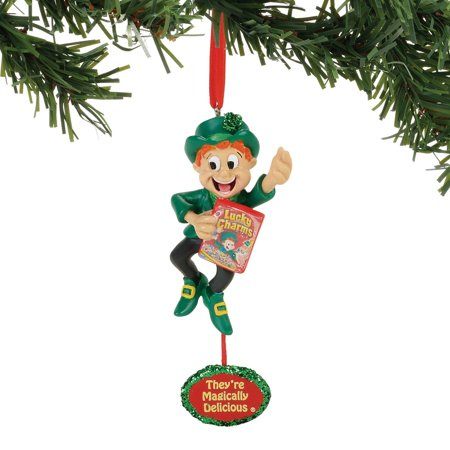 General Mills Lucky Charms Leprechaun Ornament - Lucky Charms Leprechaun