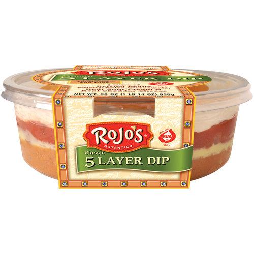 Rojo's Five Layer Party Dip, 30 oz