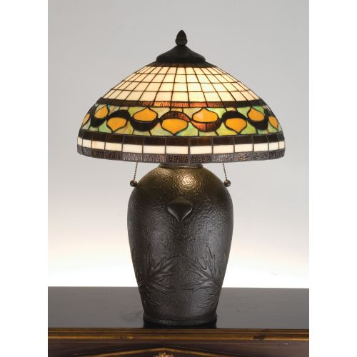 Meyda Tiffany 19169 Table Lamp from the Acorns Collection by Meyda Tiffany