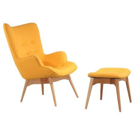 Ceets Lounge Chair Ottoman Set
