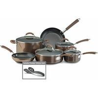 Farberware Millennium Colors Nonstick Aluminum 12 Piece Cookware Set