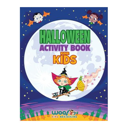 Halloween Activity Book for Kids : Reproducible Games, Worksheets and Coloring Book (Woo! Jr. Kids Activities Books) (Halloween Worksheet Grade 2)