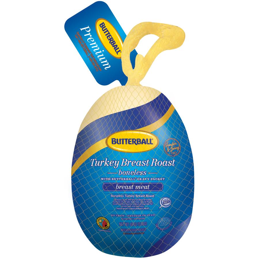 Butterball® Frozen Breast Meat Boneless Turkey Breast Roast 3 lb