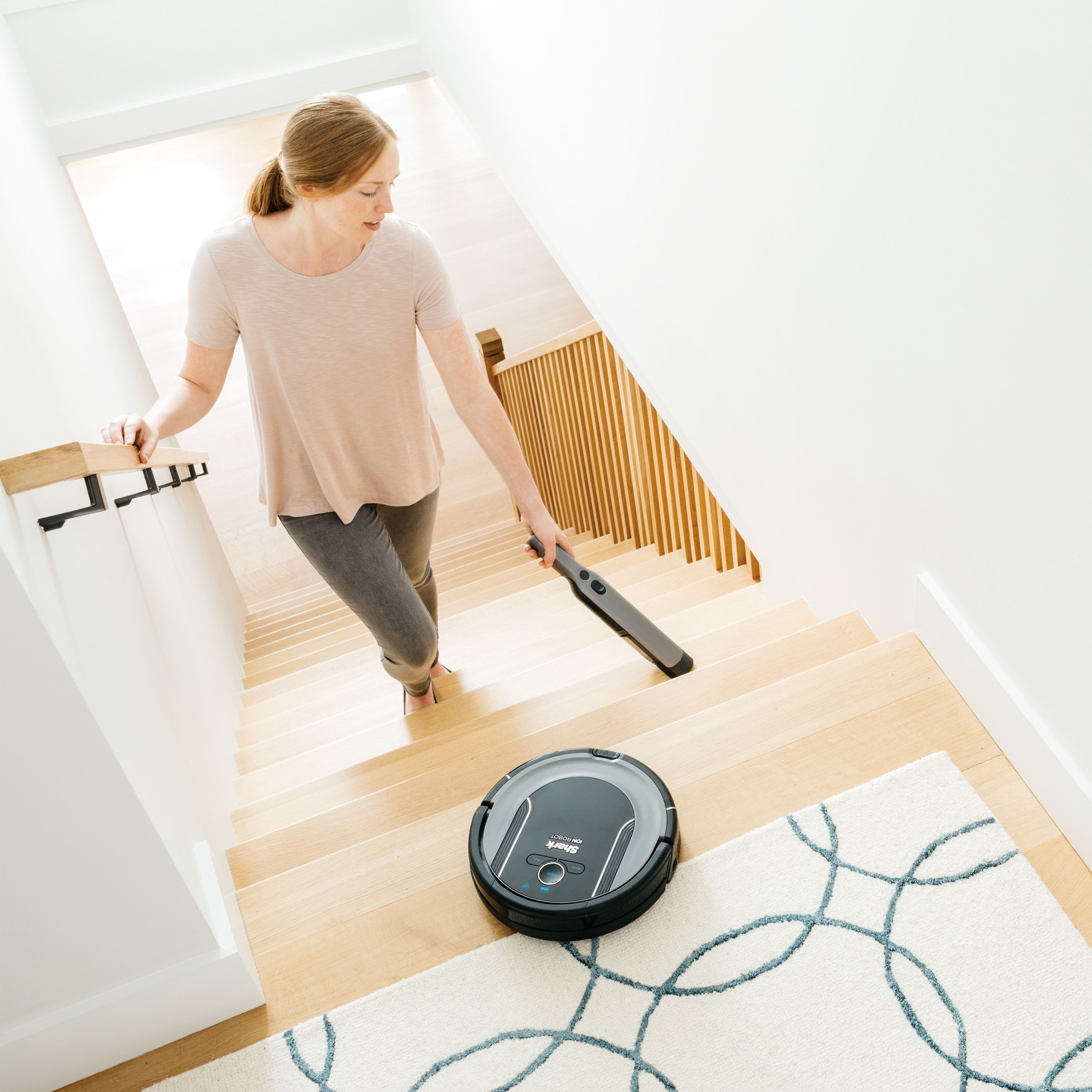 SHARK ION™ Robot Vacuum Cleaning System S86 with Wi-Fi - RV850WV ...
