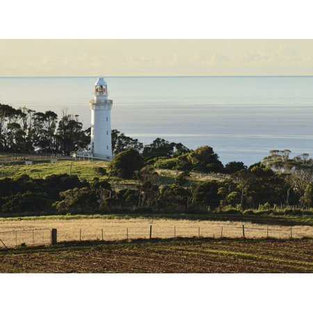 Lighthouse Wall Table (Lighthouse, Table Cape, Tasmania, Australia, Pacific Print Wall Art By Jochen Schlenker)
