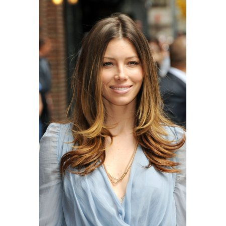 Jessica Biel At Talk Show Appearance For The Late Show With David Letterman   Mon Canvas Art     16 X 20