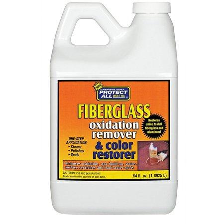 Protect All 55064 Fiberglass Oxidation Remover & Color Restorer - 64oz ()