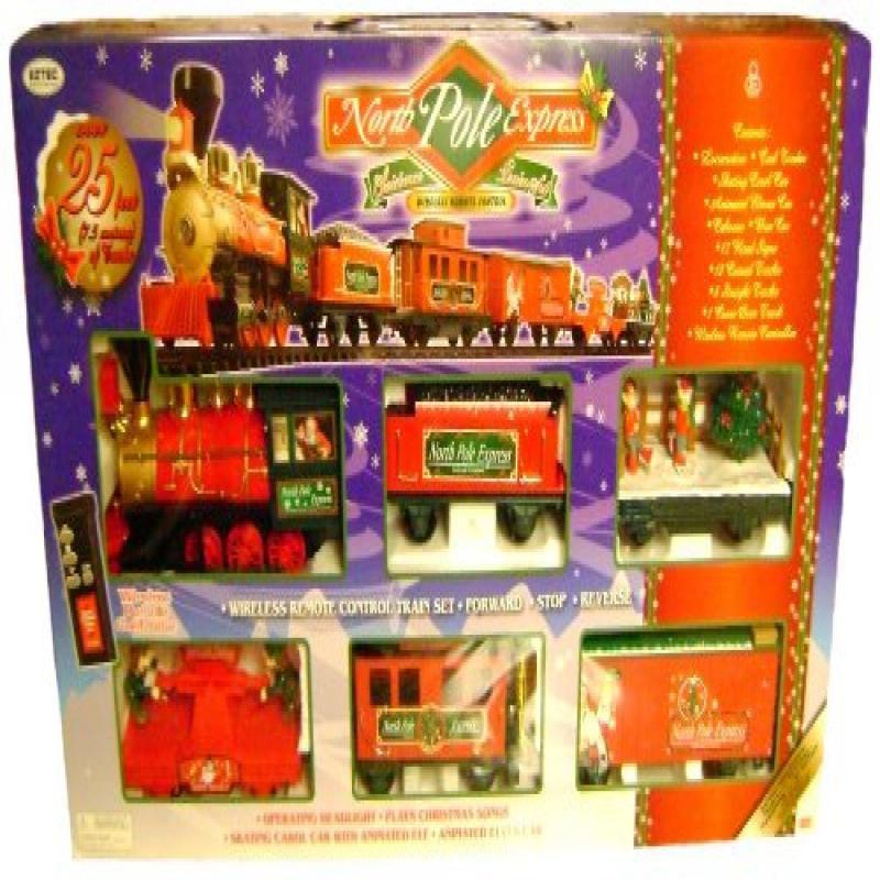 Eztec 37260 G Scale North Pole Express Christmas Train Set