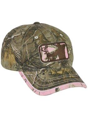 Ladies Major League Bowhunter Realtree Xtra/Realtree APC Pink Hunting Hat