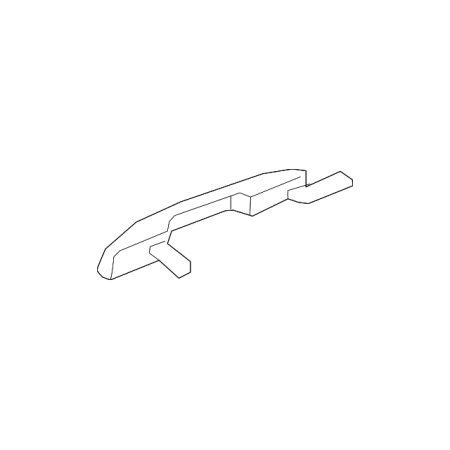 Ford P71 (Genuine OE Ford Handle, Outside JL1Z-7822404-CBPTM)