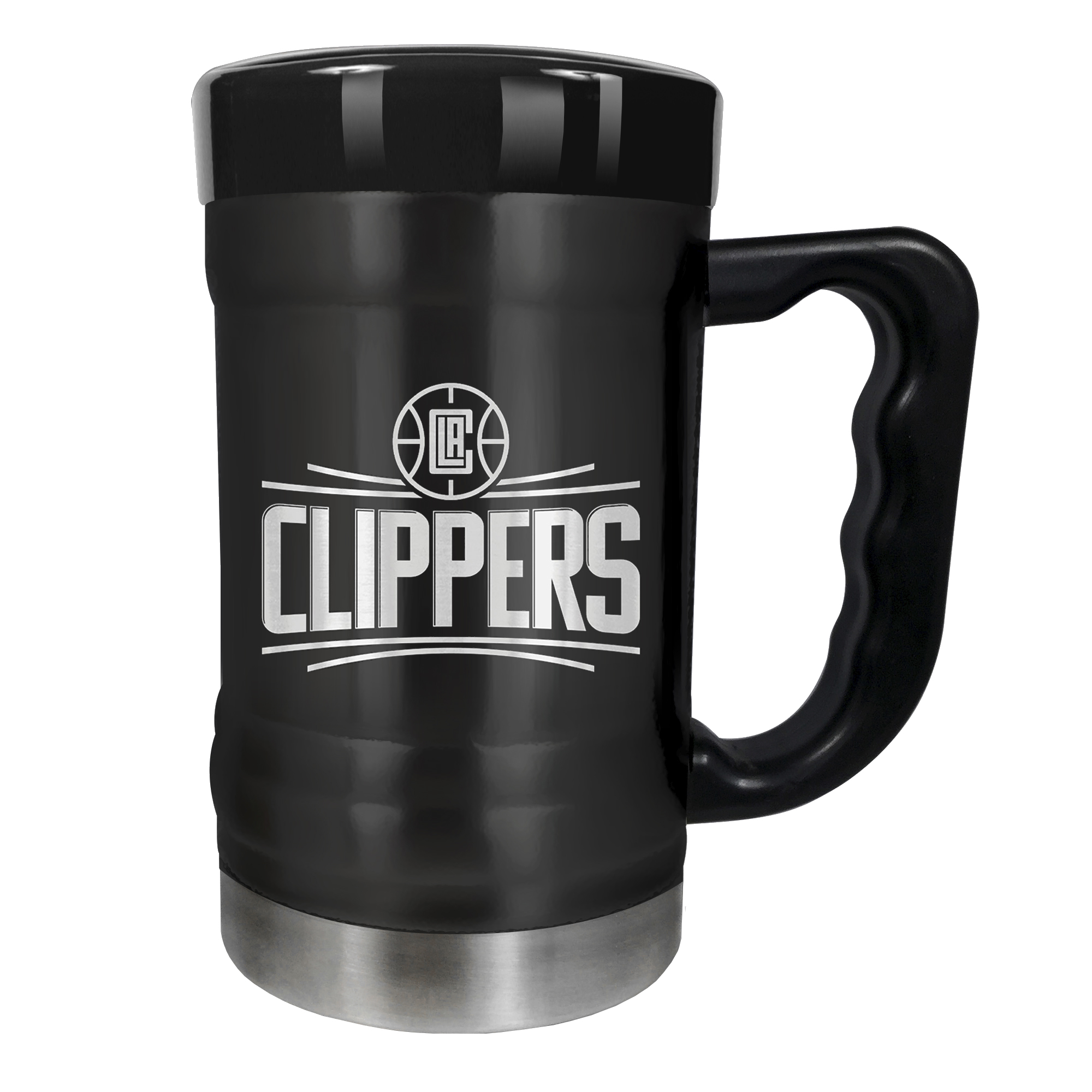 LA Clippers 15oz. Stealth Coach Coffee Mug - Black - No Size