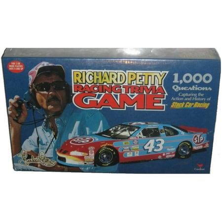 Richard Petty Stock Car Racing Cardinal Trivia Game (Cool Racing Games)