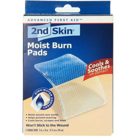 Spenco Medical Spenco  Moist Burn Pads, 3 ea