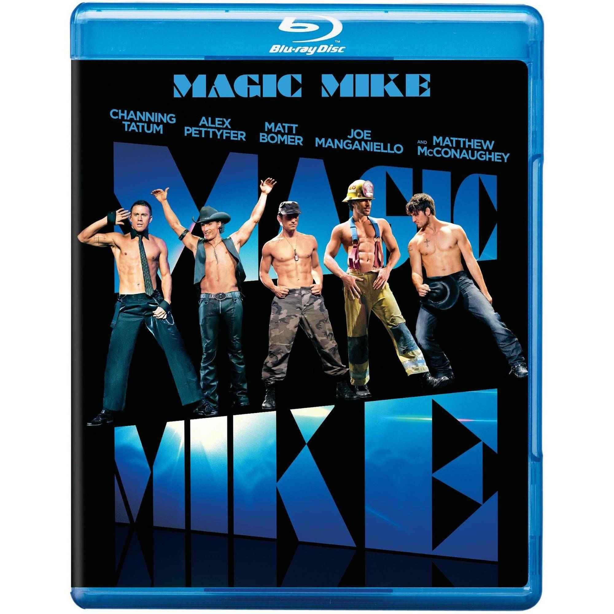 Magic Mike (Blu-ray + DVD + Digital HD With UltraViolet) (With INSTAWATCH)