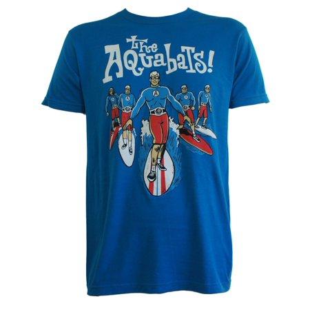AQUABATS Band Surfer Group 20 Anniversary Tour (Tour Band T-shirt)