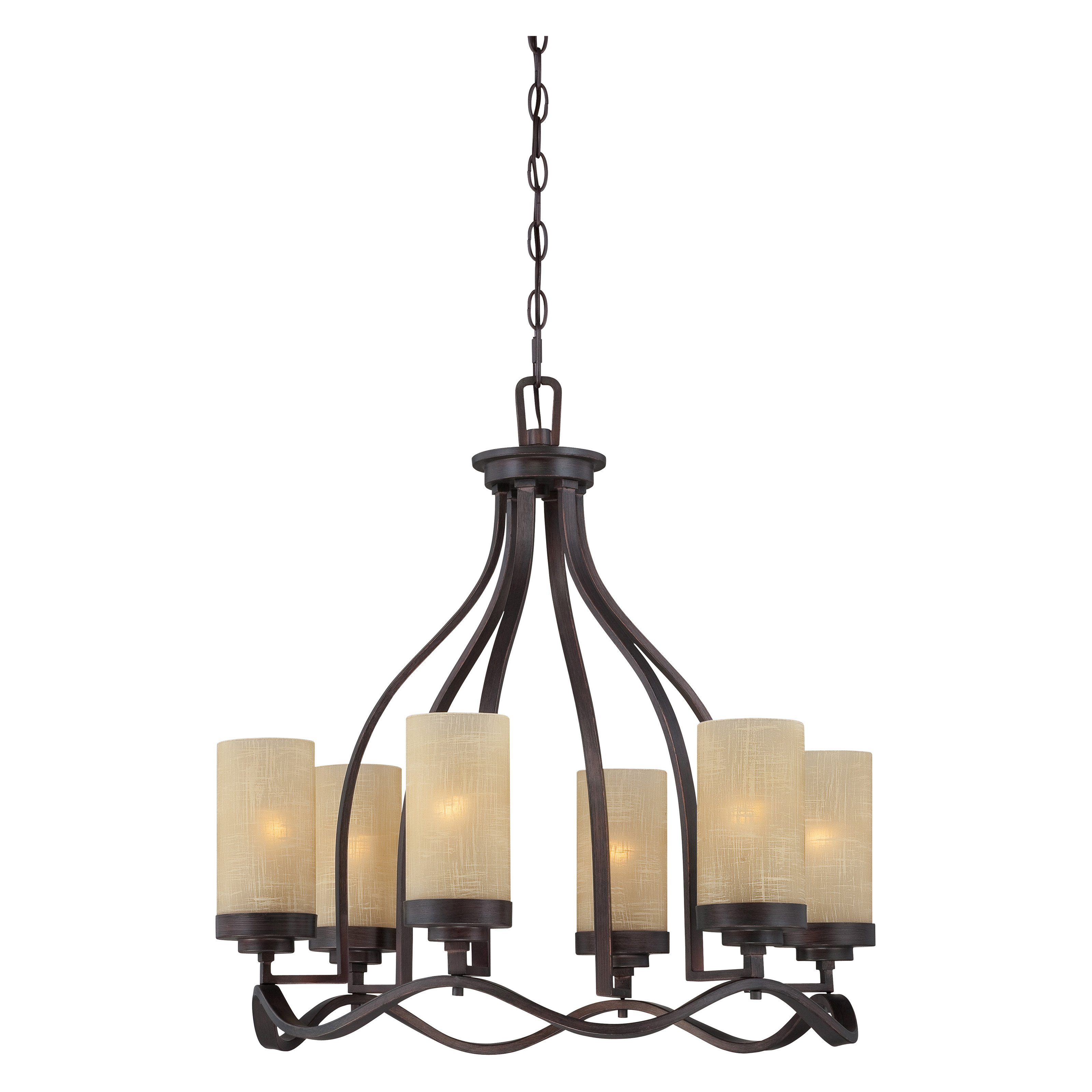 Designers Fountain 83686-TU Castello 6-Light Chandelier