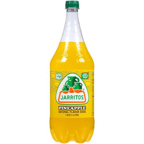 Jarritos Pineapple Soda 1 58 Qt Walmart Com