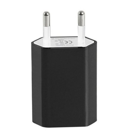 European USB Power Adapter EU Plug Wall Travel Charger for iphone for Samsung S7 ()