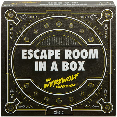 Escape Room In a Box The Werewolf Experiment for 2-8 Players Ages 13Y+